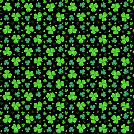 Black Tossed Clover