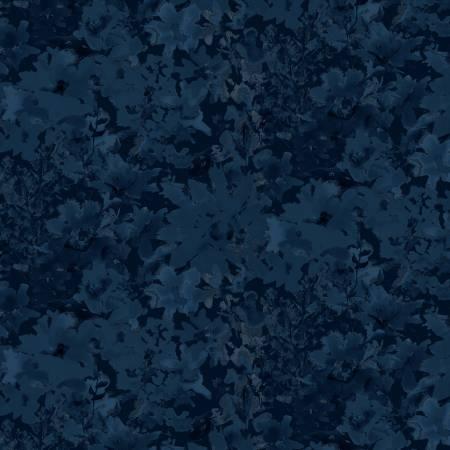 Midnight Sapphire - Navy Textured Allover
