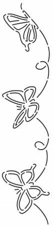 Stencil 938 Butterfly3 1/3