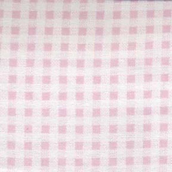 Light Pink Gingham Flannel