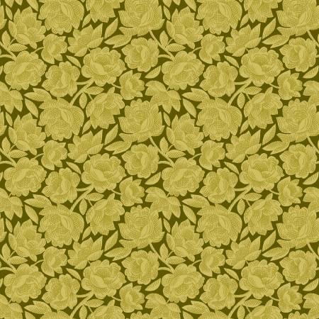 Gratitude & Grace Green Vintage Floral