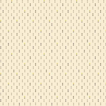 Henry Glass Gratitude & Grace Cream Double Diamonds 9414-40