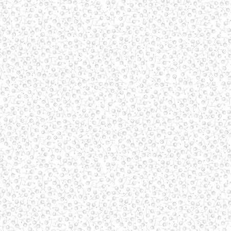 Berries 9419-01W White/White