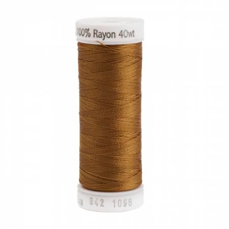 Rayon Thread 2-ply 40wt 268d 250yds Medium Tawny Tan