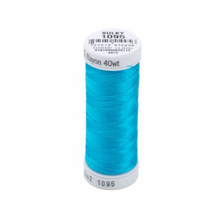 Rayon Thread 2-ply 40wt 268d 250yds Turquoise