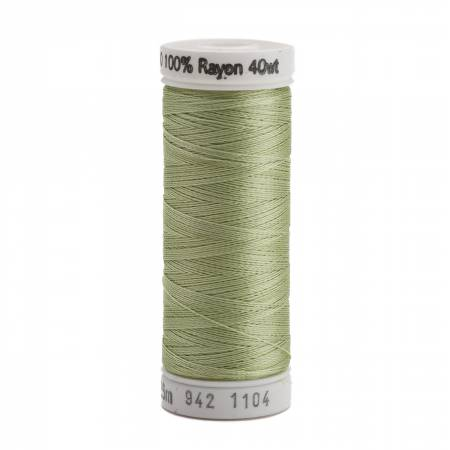Rayon Thread 2-ply 40wt 268d 250yds Pastel Yellow-Green