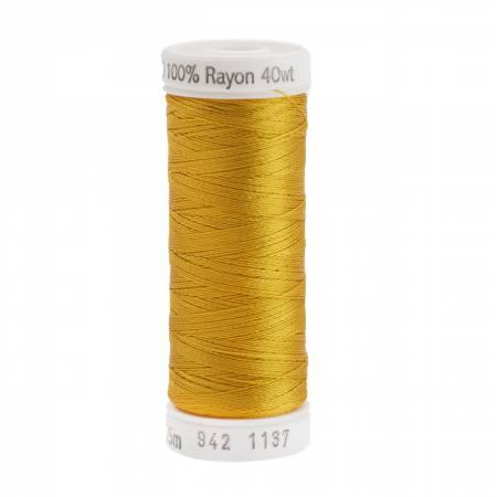 Rayon Thread 2-ply 40wt 268d 250yds Yellow-Orange
