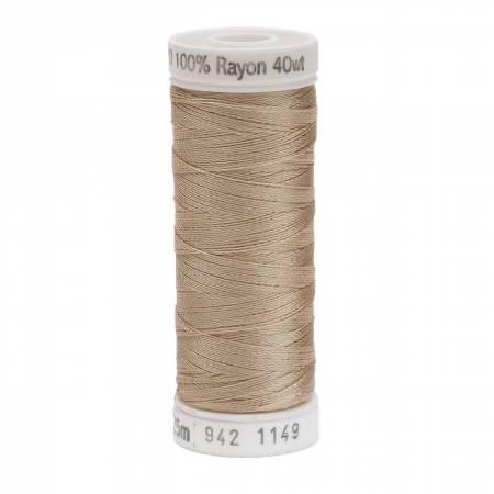 Rayon Thread 2-ply 40wt 268d 250yds Deep Ecru
