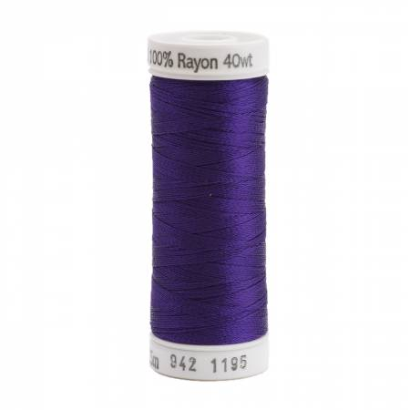 Rayon Thread 2-ply 40wt 268d 250yds Dark Purple