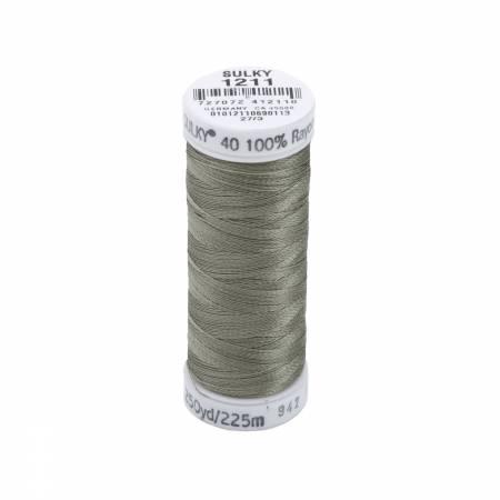 Rayon Thread 2-ply 40wt  250yds Light Khaki, 1211