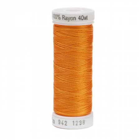Rayon Thread 2-ply 40wt 268d 250yds Org Sunrise