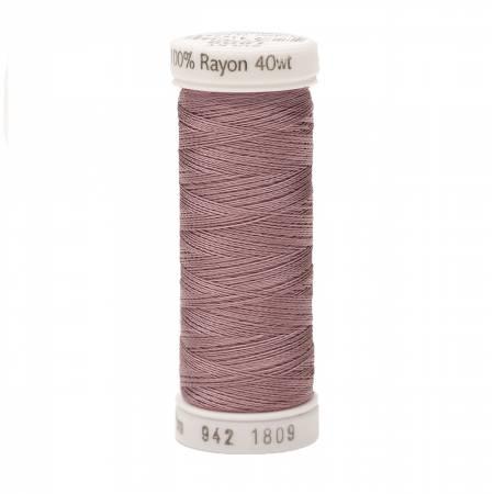 1809 Rayon 40wt 250yds Iced Mauve Sulky