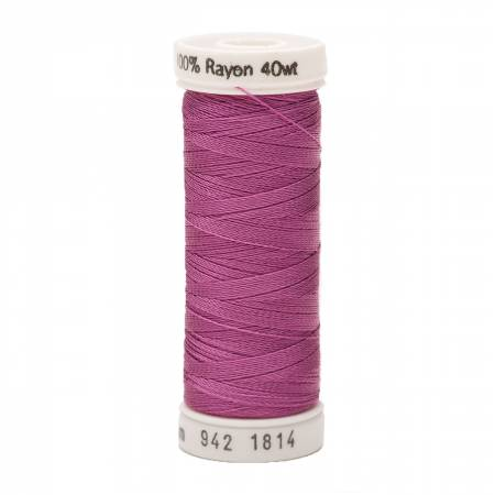 1814 Rayon 40wt 250yds Orchid Kiss Sulky