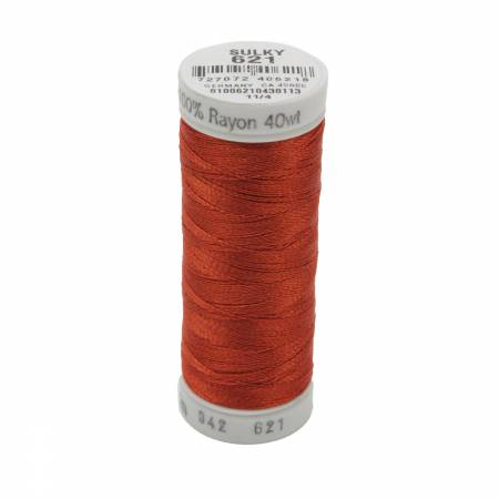 Rayon Thread 2-ply 40wt 268d 250yds Sunset