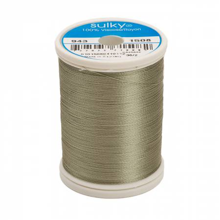 Rayon Thread 2-ply 40wt 268d 850yds Putty