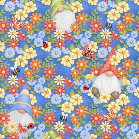 Blue Peeking Gnomes 9443-11