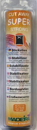 Super Strong Cut Away Stabilizer Black