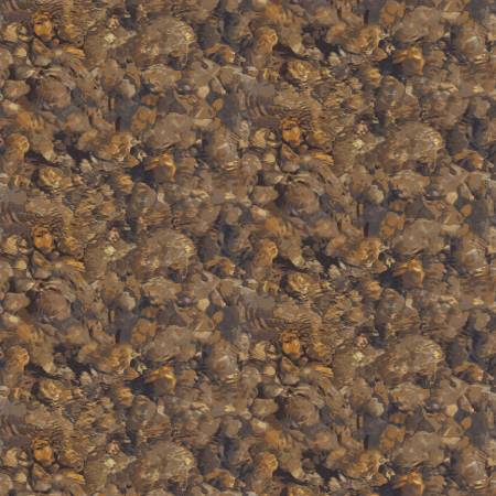 Henry Glass Yellowstone Brown Rock Texture 9491 33