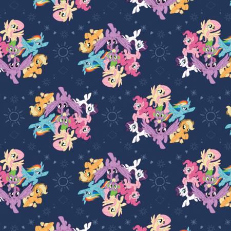 My Little Pony Ponies Navy