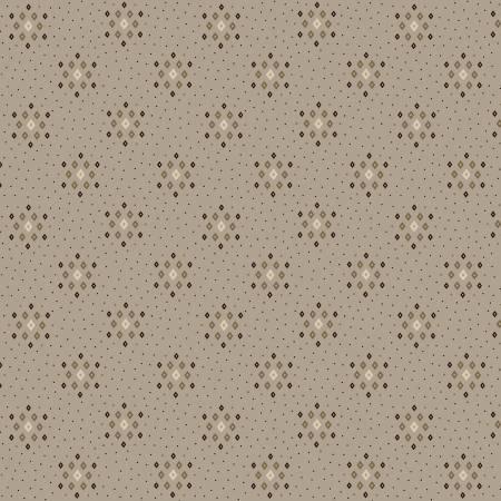 108 Parlor Pretties 9503-90 Gray Diamond Geometric