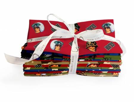 GI Joe Adventure Camelot Fabrics 950404105FQB `....