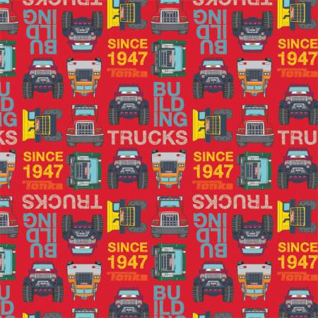 Red Tonka Blocks
