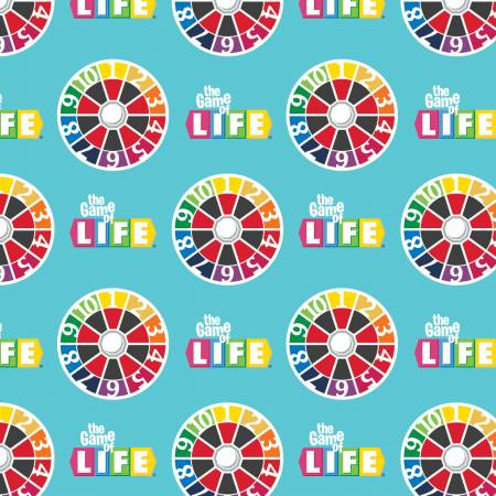 Hasbro The Game of Life - Life Turn Spinner Aqua