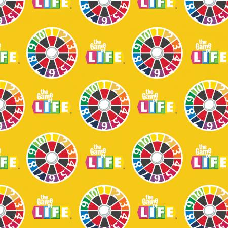 Hasbro The Game of Life - Life Turn Spinner Yellow