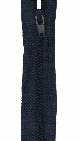 Make-A-Zipper Regular 5.5yd (197in) roll & 12 zipper pulls Navy