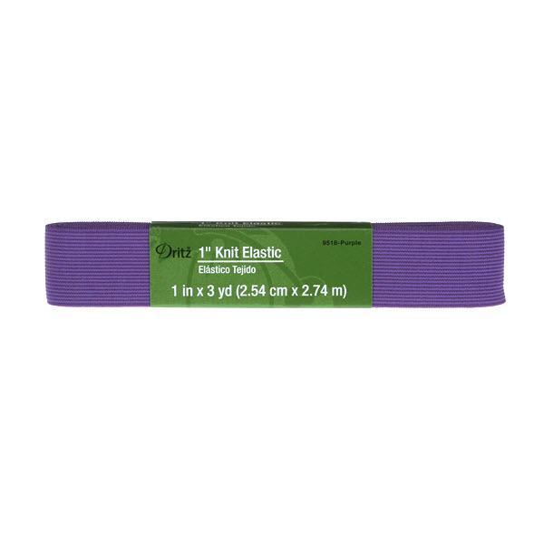 1x3yds Knit Elastic Purple