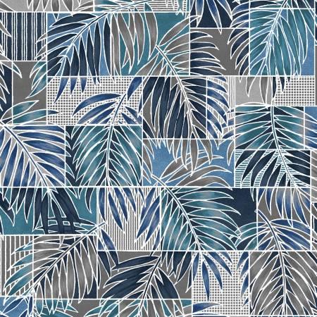 Blue/Grey Transparent Palms