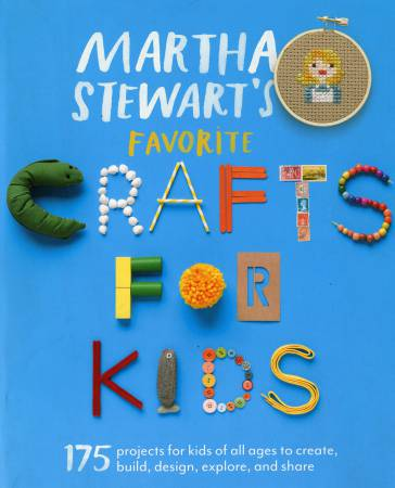 Martha Stewart's Favorite Crafts for Kids  - Softcover Book