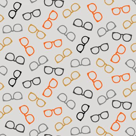 Wild and Free - Tossed Glasses Gray