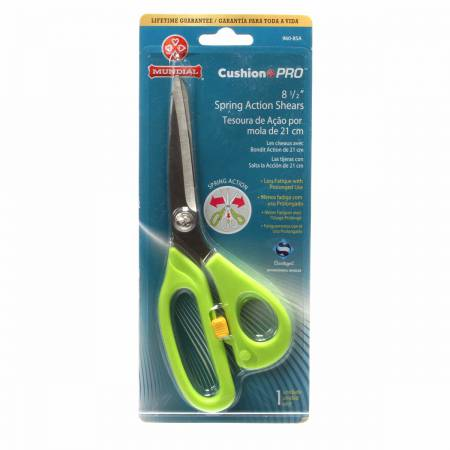 Cushion Pro Spring Action Scissors 8 1/2in
