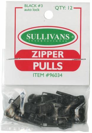 Make-A-Zipper Pulls Black