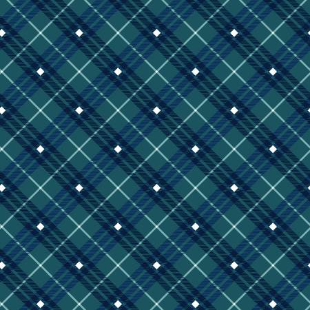 Navy Plaid Gnome for the Holidays by Henry Glass