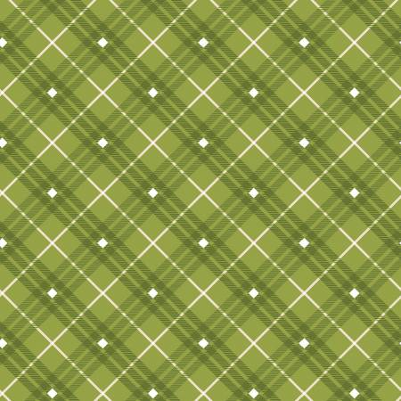 Green Plaid Gnome for the Holidays by Henry Glass
