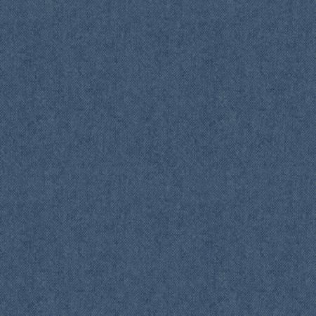 Fabric-Benartex Flannel Tweed Blue 54
