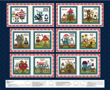 Navy Gnome Book Panel