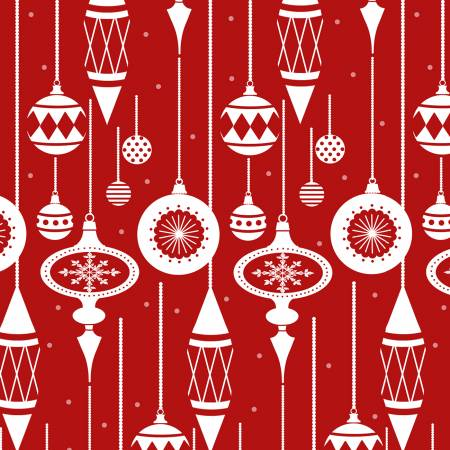 Henry Glass & Co. Holiday Lane 9628-88 Red Ornaments
