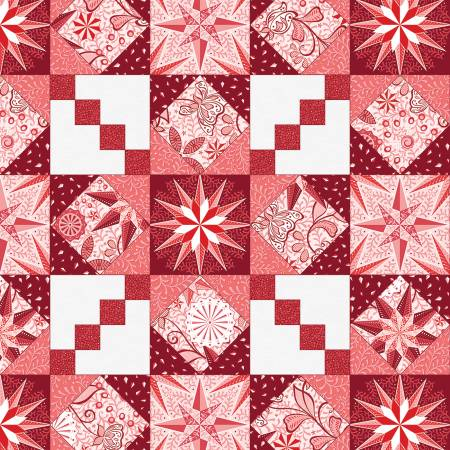 Red Endless Quilting Pearlized Red 9629PB-10