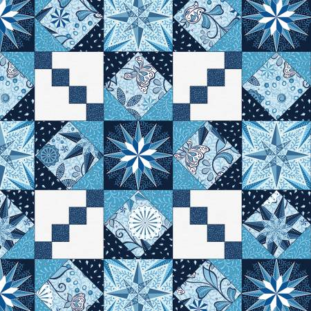 Blue Endless Quilting Pearlized Blue 9629PB-50