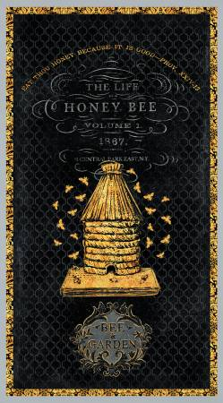 A Bee's Life Large Panel 24in x 43in