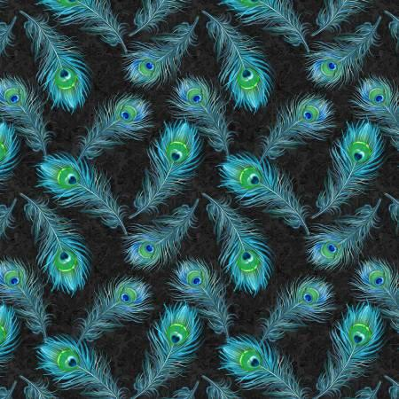 Plumage-Blue Feathers Allover