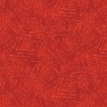 Red Word Texture