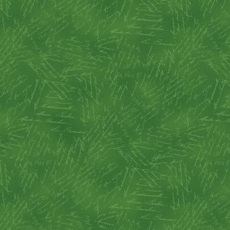 Green Word Texture