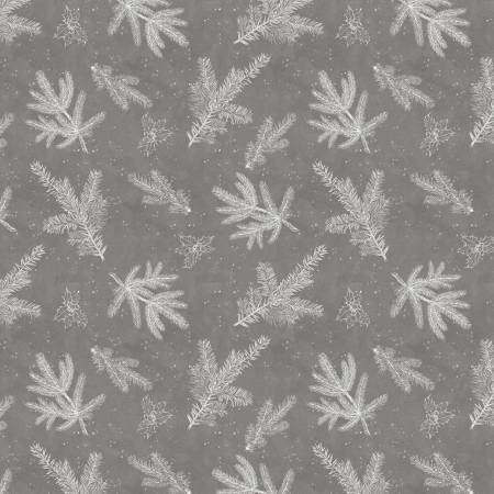 Snowy Wishes Grey Branch Toile 96450-911