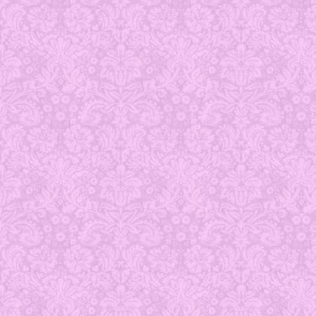 Flower Study Damask Purple