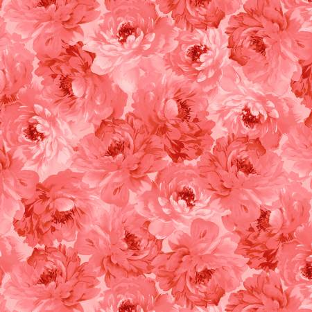 Pink Floral Packed Tonal