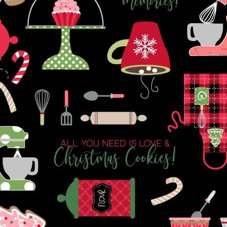 Black Christmas Baking